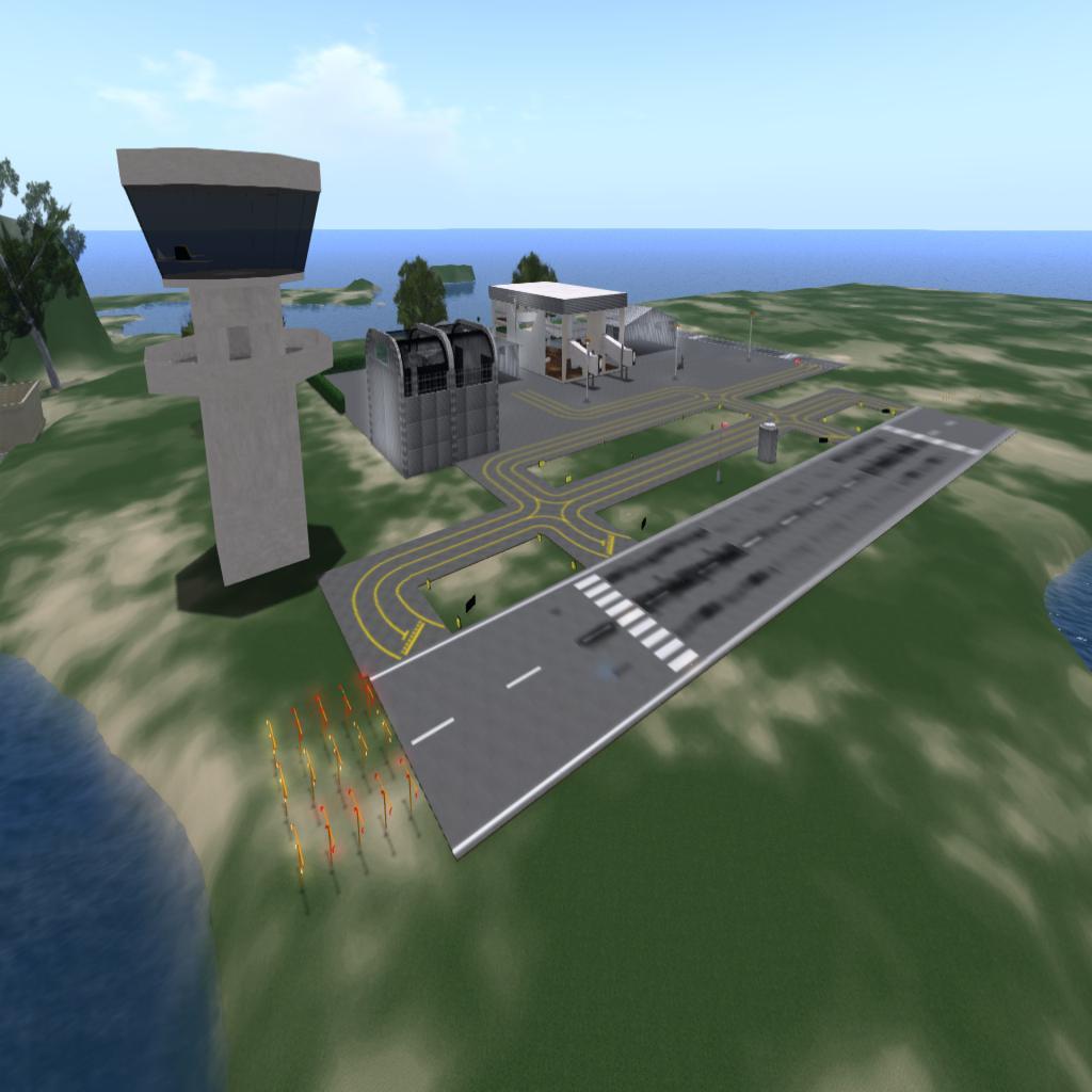 jOpenSimWorld Airport